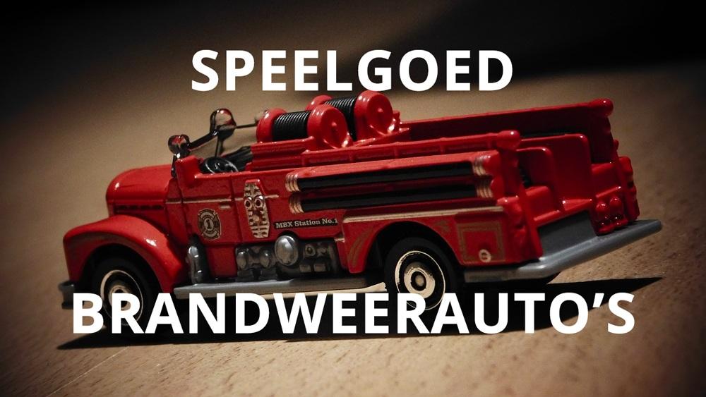 De leukste brandweerauto's om cadeau te doen