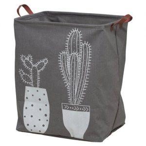 Cactusliefhebber wasmand