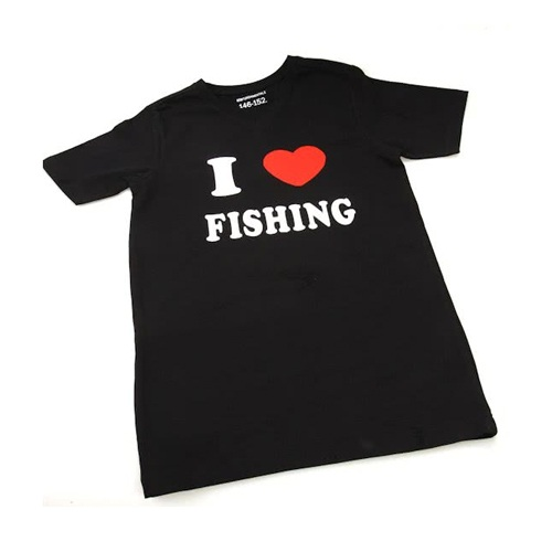 T-shirt I Love Fishing