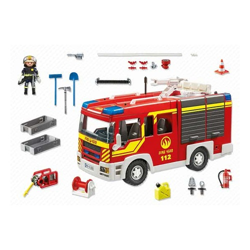 Playmobil Brandweer Pompwagen