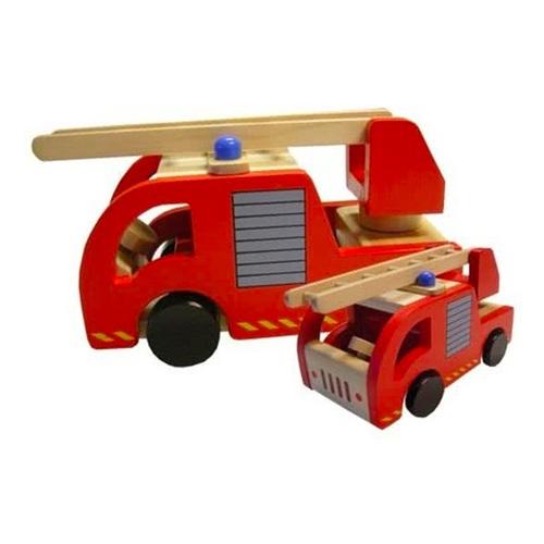 Playwood Houten Brandweerauto
