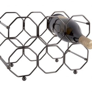 Present Time Honeycomb Wijnrek van Metaal - Past in elk interieur