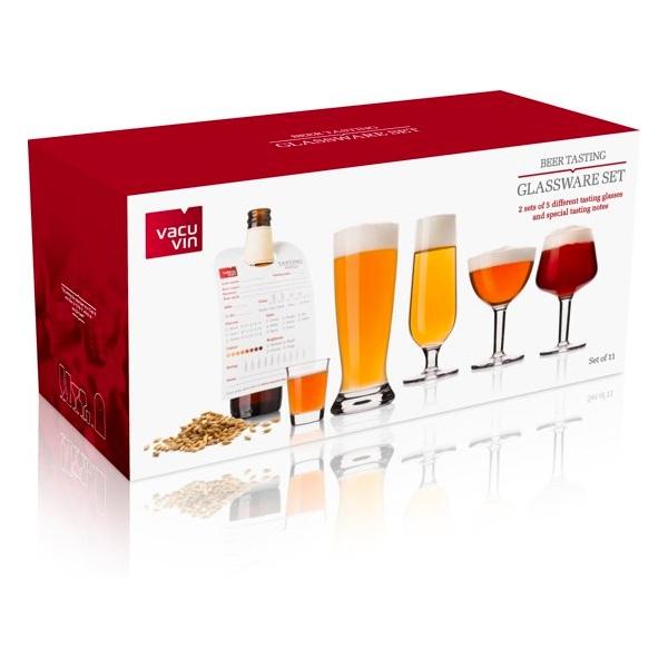 Vacu Vin bierglazen set