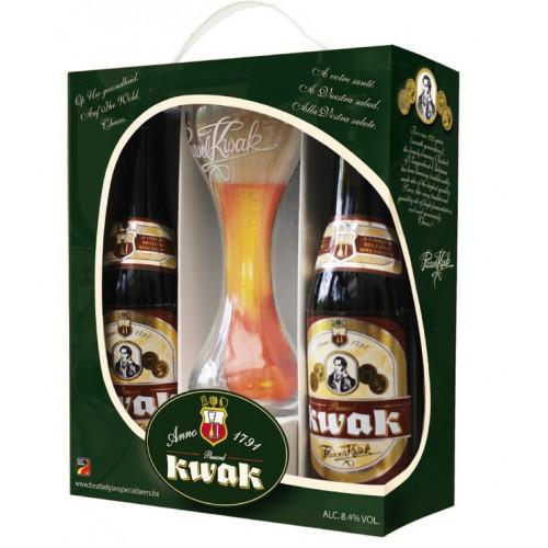 pauwel kwak bierpakket met glas